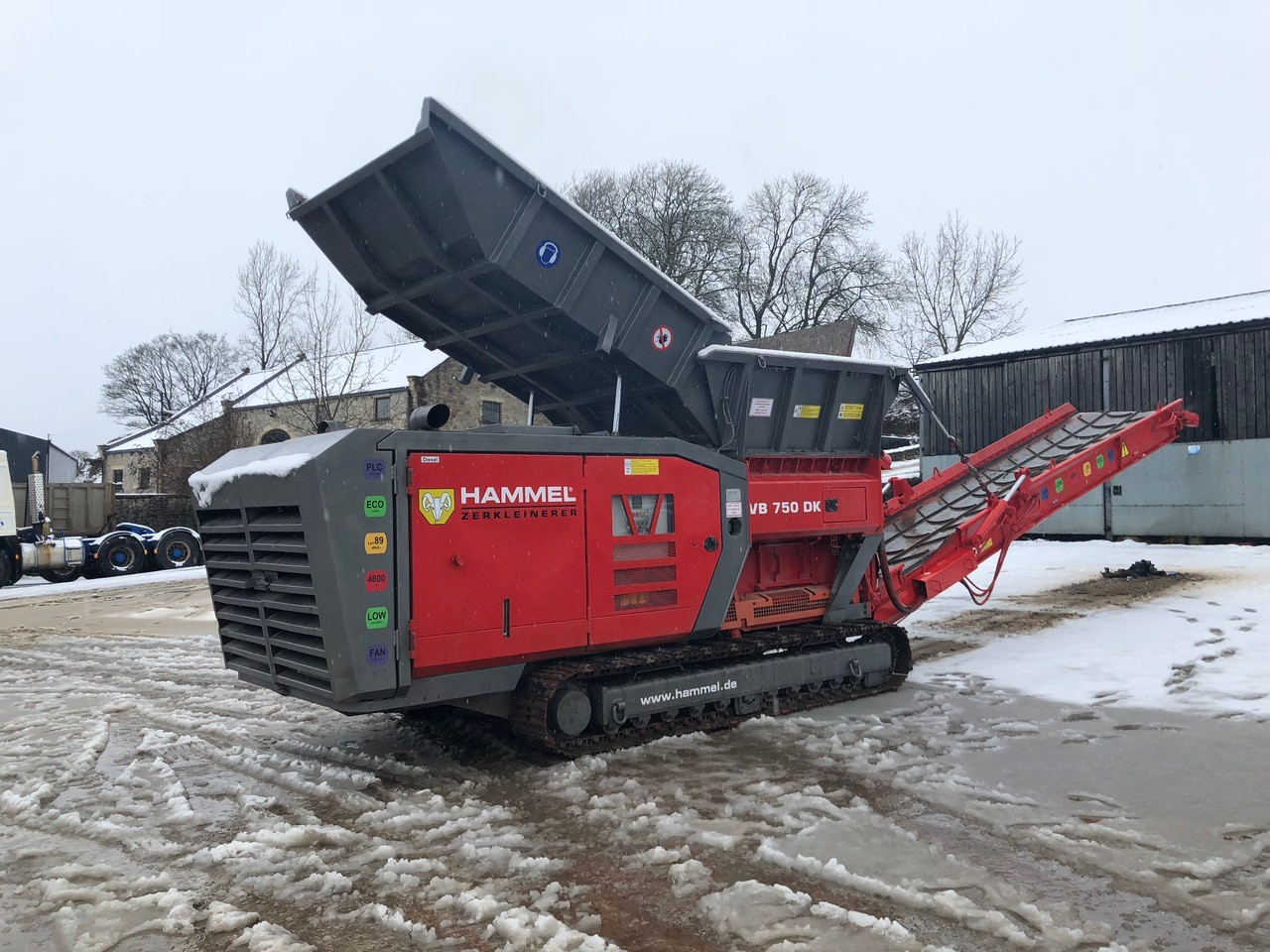 Hammel VB 750 DK Shredder SN Image