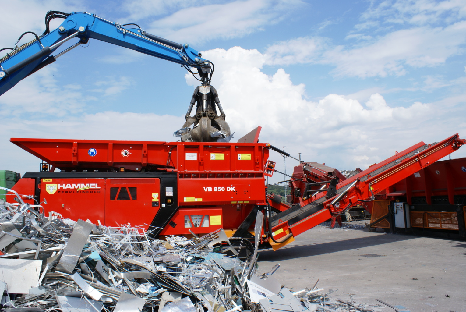 Hammel VB 850 E Shredder Image