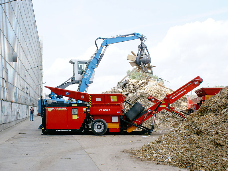 Hammel VB 650 E Shredder Image