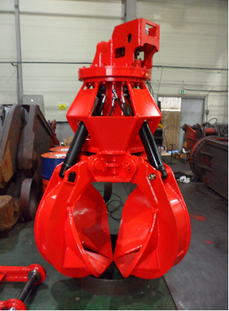 Pro Lift 3/4 Yd 4-tine Hydraulic Grapple Image