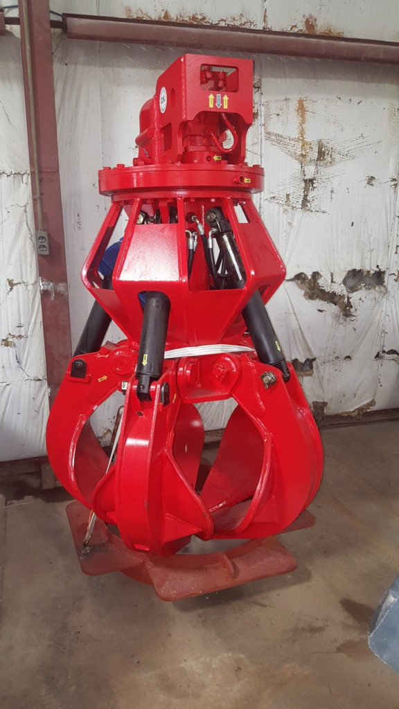 Pro Lift 2 Yd 5-tine Hydraulic Grapple Image
