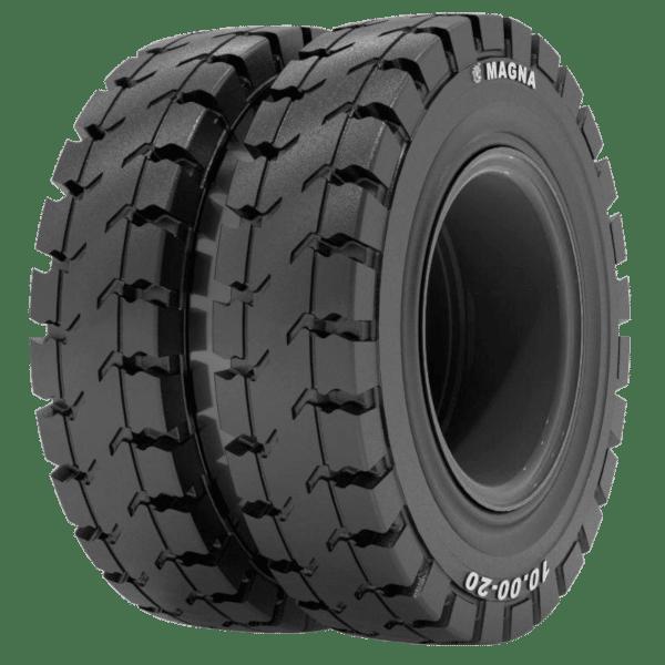 Magna MA608 Twin Wheel Solid Tire